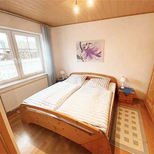 Ferienwohnung Seeteufel, Wohnung 4, Schlafzimmer