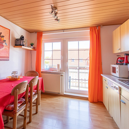 Ferienwohnung Seeteufel, Wohnung 5, Küche