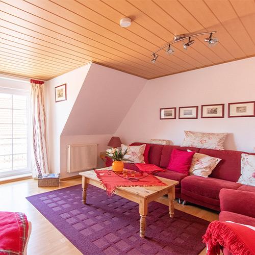 Ferienwohnung Seeteufel, Wohnung 5, Wohnzimmer